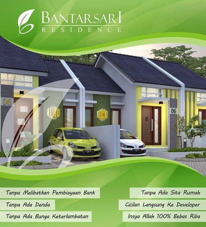 Rumah KPR Bantarsari skema KPR Syariah Tanpa Riba