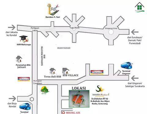 Rumah KPR Syariah Semarang Samara Residence 4 Lokasi