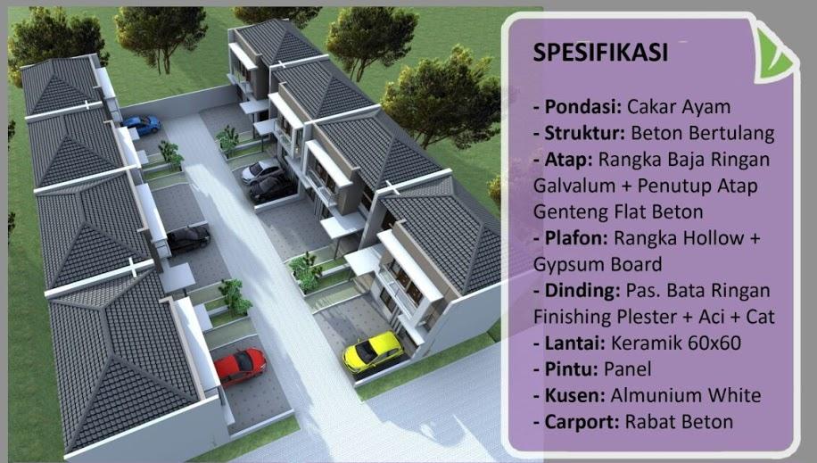 spesifikasi rumah syariah jakarta selatan casamabda residence