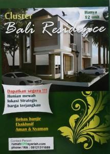 Perumahan tanpa riba bekasi Bali Residence