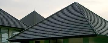 genteng atap beton