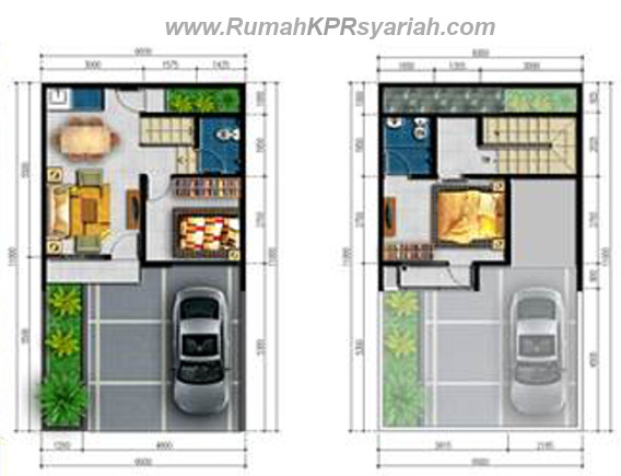 Rumah Syariah Depok Mulia Residence 5566 2lt rks