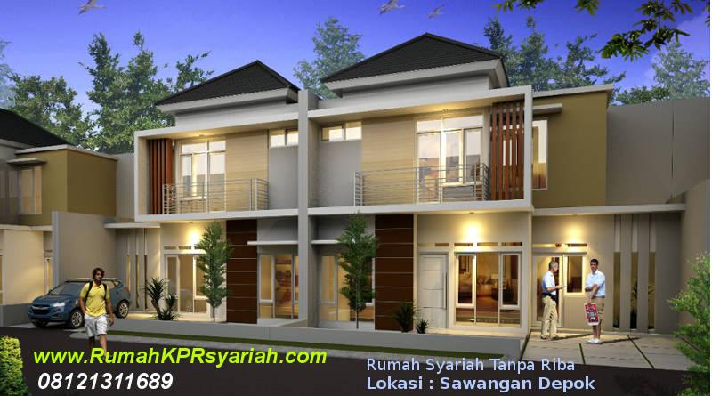 Rumah Syariah Sawangan Depok Mulia Residence 2lt rks