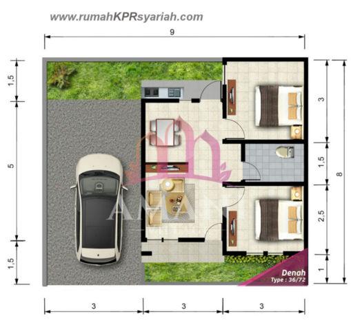 layout-perumahan-tanpa-riba-yogyakarta-amani-village-36