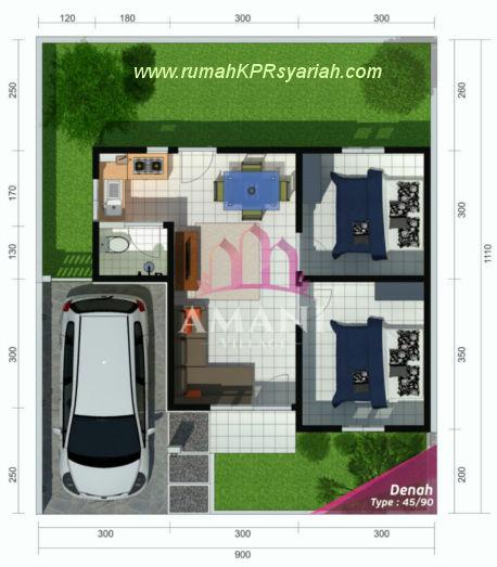 layout-perumahan-tanpa-riba-yogyakarta-amani-village-45