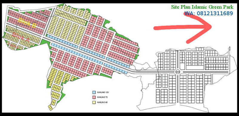 Site plan Islamic Green Park rks
