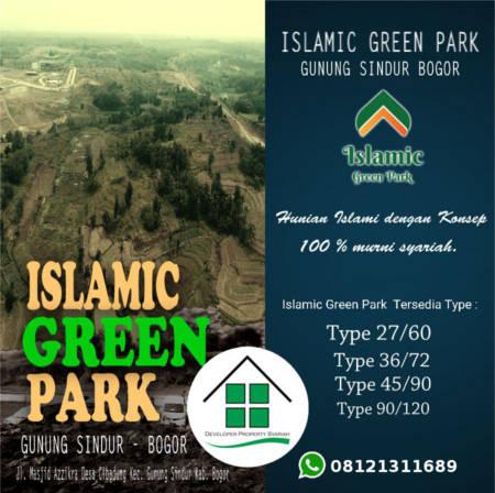 islamic green park gunung sindur WA2