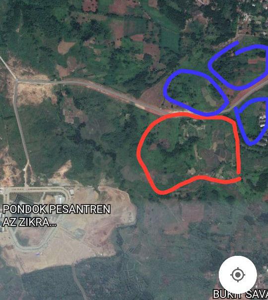 satelit islamic green park gunung sindur az zikra