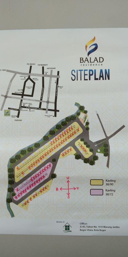 update site plan balad residence
