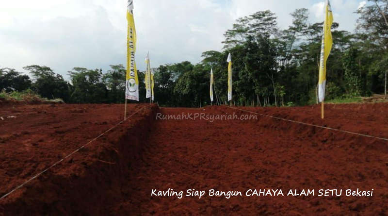 Property syariah bekasi Cahaya Alam Setu Bekasi- RKS