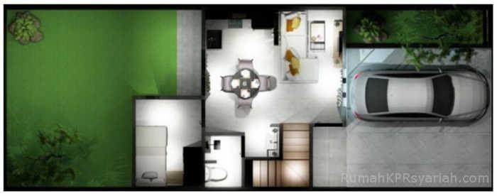 rumah syariah pamulang zyla residence